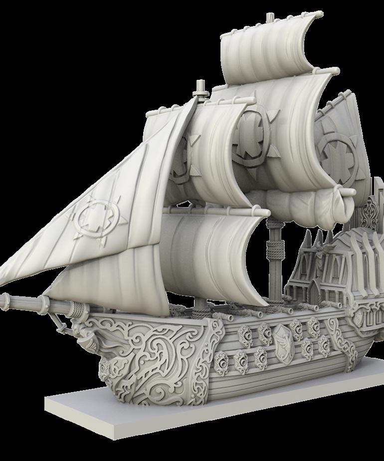 Mantic Games - MG Kings of War: Armada - Basilean Abbess