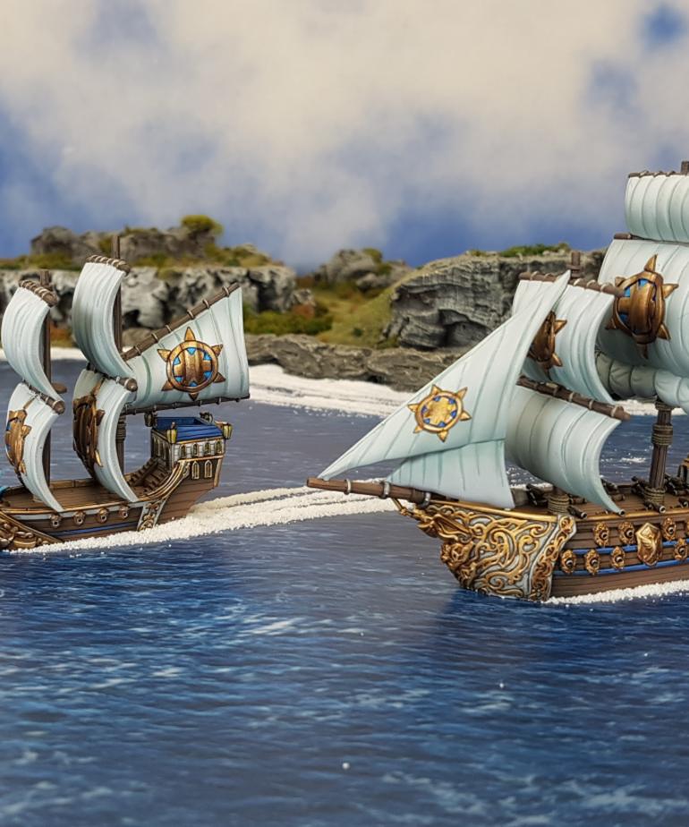 Mantic Games - MG Kings of War: Armada - Basilean Starter Fleet
