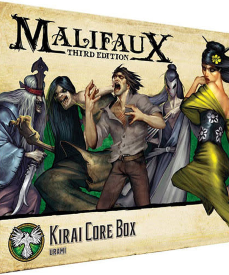 Wyrd Miniatures - WYR Malifaux 3E - Ressurrectionists - Kirai Core Box