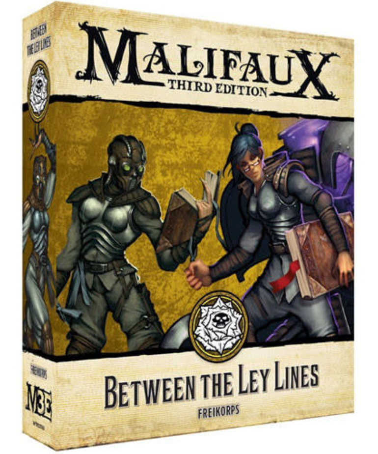Wyrd Miniatures - WYR Malifaux 3E - Outcasts - Between the Ley-Lines