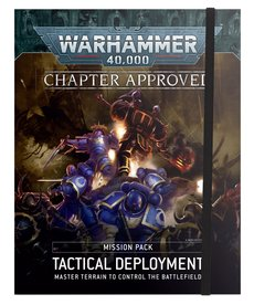 Games Workshop - GAW PRESALE - Chapter Approved: Tactical Deployment - Mission Pack - 10/03/2020