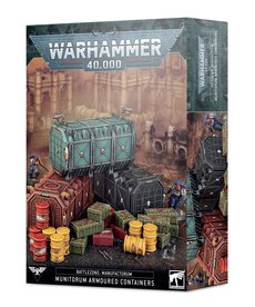 Games Workshop - GAW PRESALE - Munitorum Armoured Containers - 10/03/2020