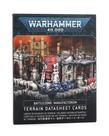 Games Workshop - GAW Warhammer 40K -  Battlezone: Manufactorum - Terrain Datasheet Cards