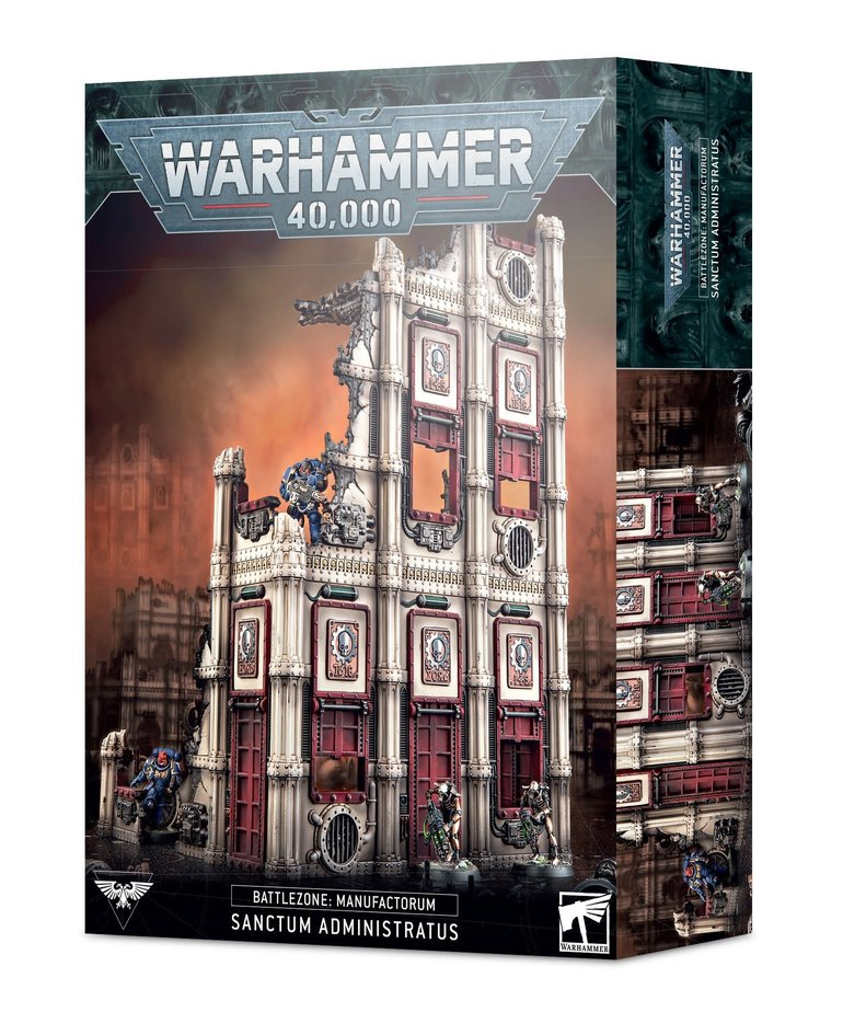 Games Workshop - GAW Warhammer 40K - Battlezone: Manufactorum - Sanctum Administratus