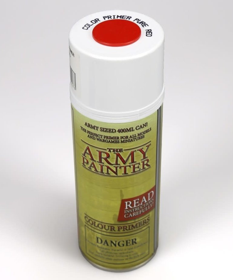The Army Painter - AMY The Army Painter: Colour Primer Spray - Pure Red