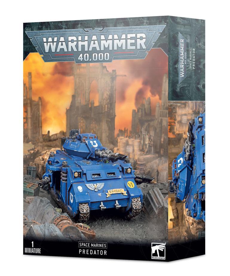 Games Workshop - GAW Warhammer 40k - Space Marines - Predator