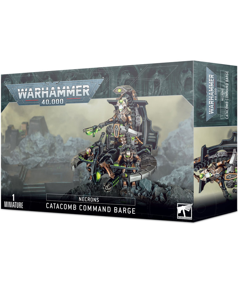 Games Workshop - GAW Warhammer 40K - Necrons - Catacomb Command Barge