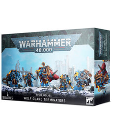 Games Workshop - GAW Warhammer 40K - Space Wolves - Wolf Guard Terminators