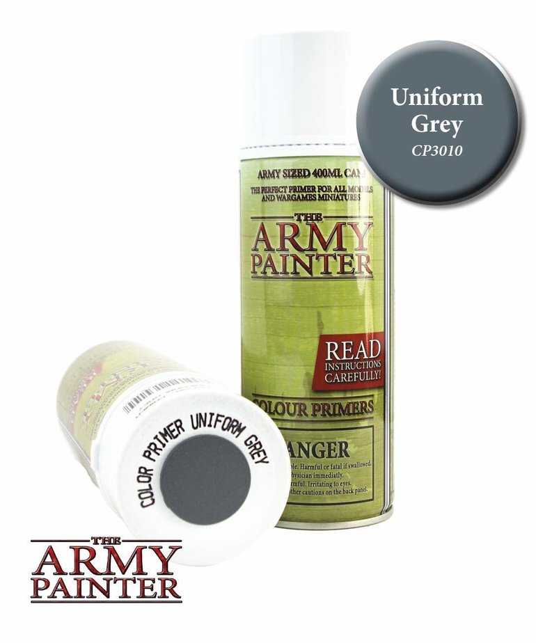 The Army Painter - AMY The Army Painter: Colour Primer Spray - Uniform Grey