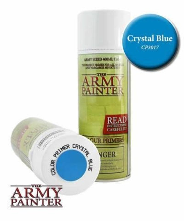 The Army Painter - AMY The Army Painter: Colour Primer Spray - Crystal Blue
