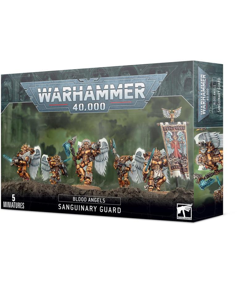 Games Workshop - GAW Warhammer 40K - Blood Angels - Sanguinary Guard
