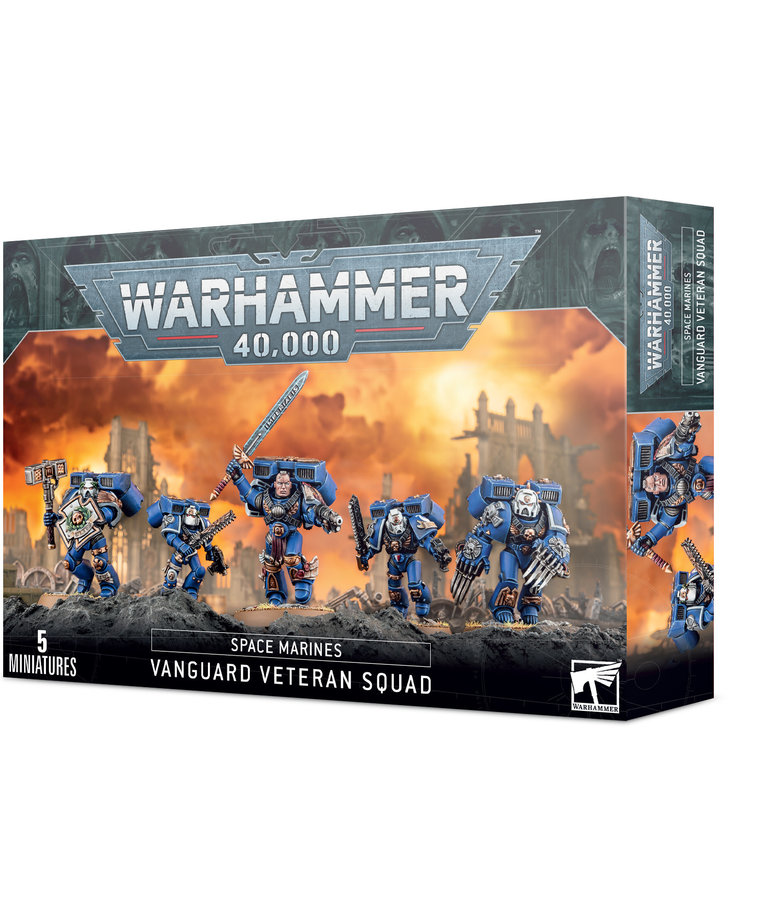 Games Workshop - GAW Warhammer 40K - Space Marines - Vanguard Veteran Squad