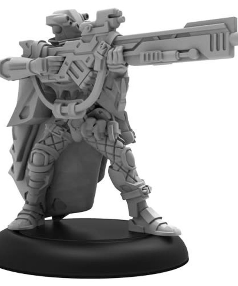 Privateer Press - PIP PRESALE - Warcaster: Neo-Mechanika - Marcher Worlds - Hunter - Solo / Hero - 11/06/2020