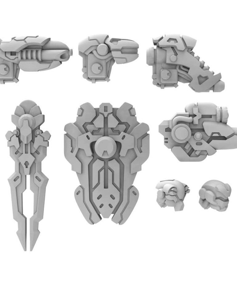 Privateer Press - PIP PRESALE - Warcaster: Neo-Mechanika - Iron Star Alliance - Morningstar A - Weapon Pack - 11/06/2020