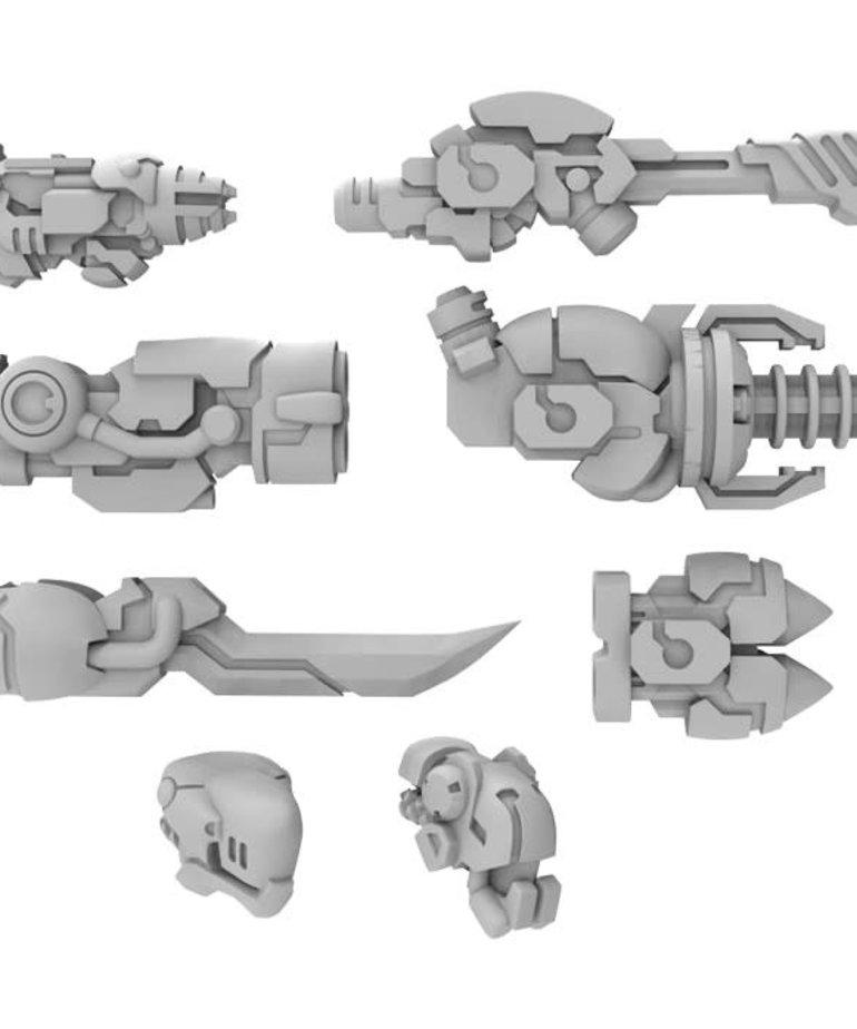 Privateer Press - PIP PRESALE - Warcaster: Neo-Mechanika - Aeternus Continuum - Nemesis A - Weapon Pack  - 11/06/2020