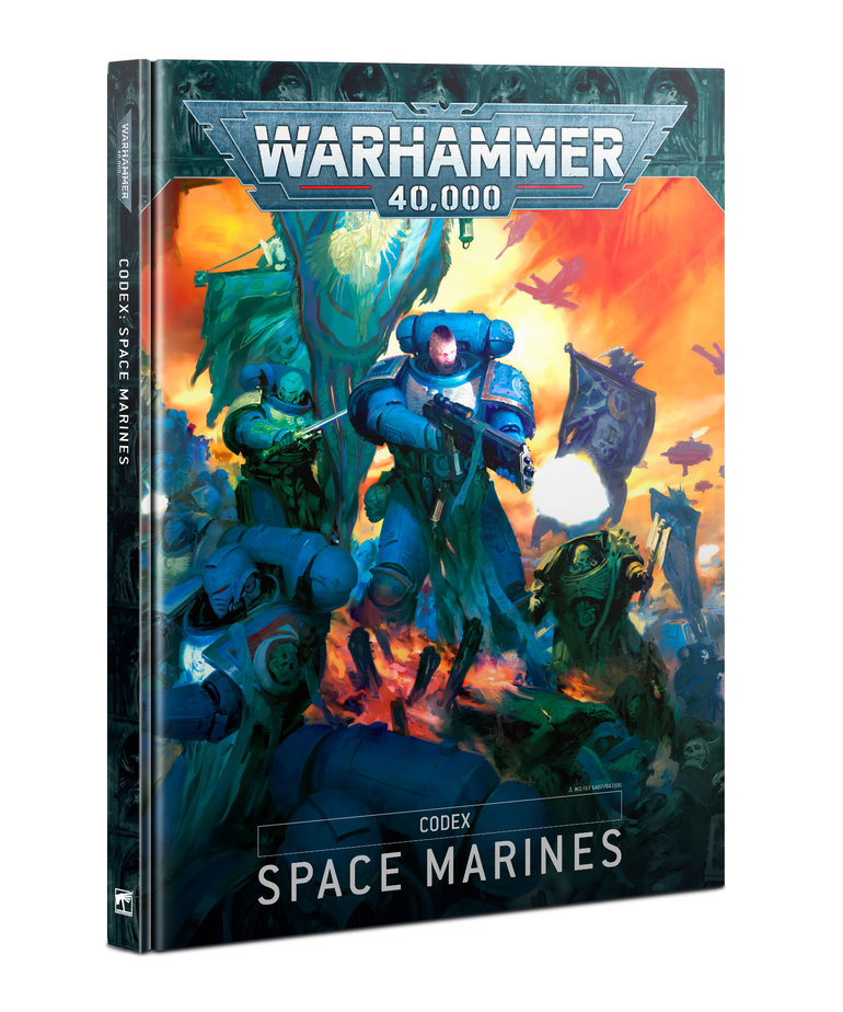 Games Workshop - GAW Warhammer 40K - Codex - Space Marines