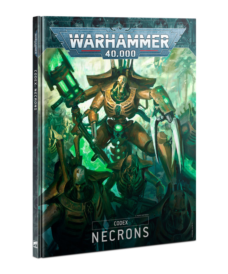 Games Workshop - GAW Warhammer 40K - Codex: Necrons