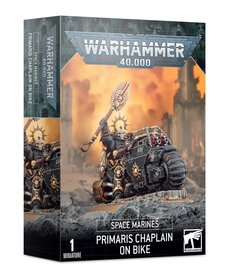 Games Workshop - GAW Primaris Chaplain on Bike PRESALE 10/10/2020