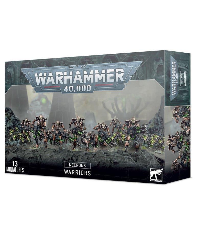 Games Workshop - GAW Warhammer 40K - Necrons - Necron Warriors