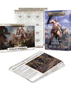 Games Workshop - GAW Warscroll Cards: Sons of Behemat