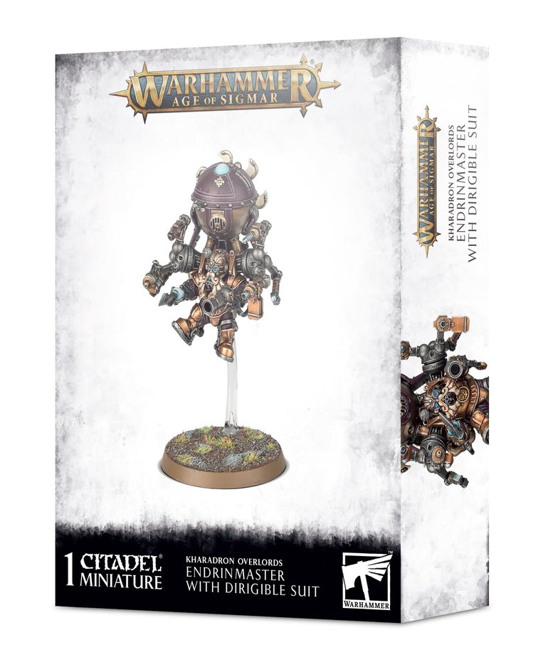 Games Workshop - GAW Warhammer Age of Sigmar - Kharadron Overlords - Endrinmaster in Dirigible Suit