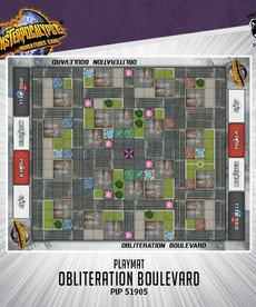 Privateer Press - PIP Monsterpocalypse - Accessories - Obliteration Boulevard Playmat (NO REBATE)