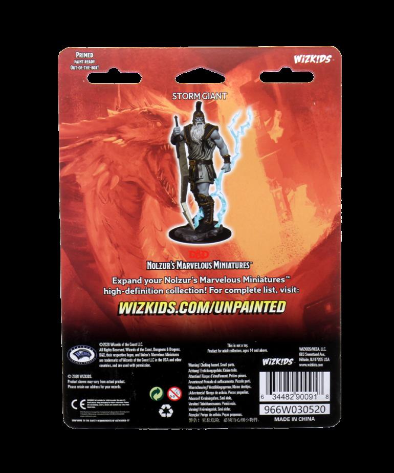 WizKids - WZK D&D: Nolzur's Marvelous Unpainted Miniatures - Storm Giant