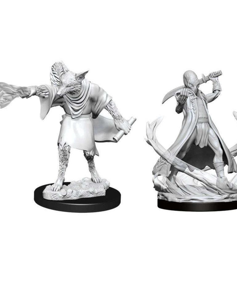 WizKids - WZK D&D: Nolzur's Marvelous Unpainted Miniatures - Arcanaloth & Ultroloth