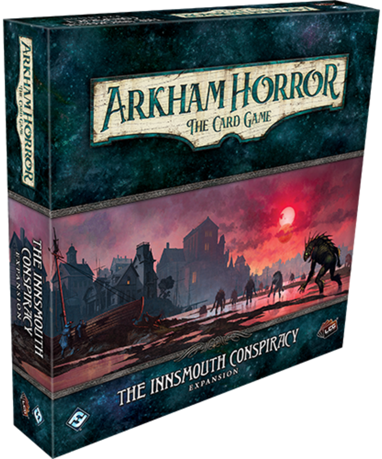Fantasy Flight Games - FFG Arkham Horror: The Card Game - The Innsmouth Conspiracy - Expansion