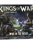 Mantic Entertainment, LTD - MGC PRESALE - Kings of War 3rd Ed. - Two Player Starter Set - War in the Holds - 12/00/2020