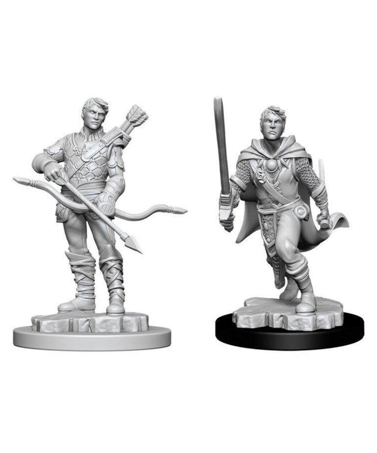 WizKids - WZK D&D: Nolzur's Marvelous Unpainted Miniatures - Human Ranger (He/Him/They/Them)