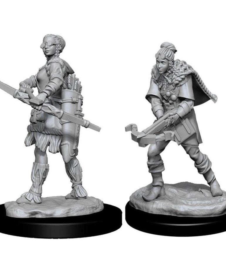 WizKids - WZK D&D: Nolzur's Marvelous Unpainted Miniatures - Human Ranger (She/Her/They/Them)
