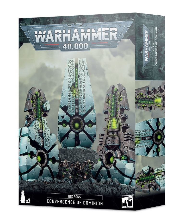 Games Workshop - GAW Warhammer 40K - Necrons - Convergence of Dominion