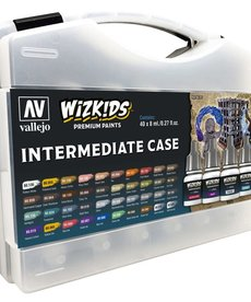 Vallejo - VJP Wizkids Premium Paints Intermediate Case