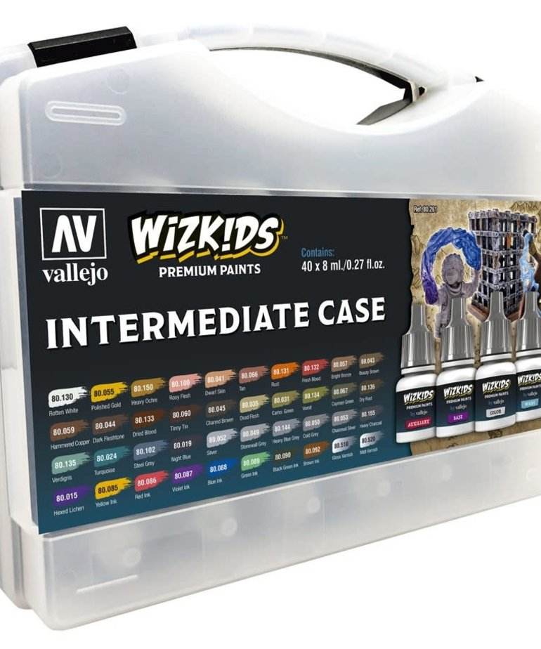 Vallejo - VJP Vallejo: Game Color - Wizkids Premium Paints Intermediate Case