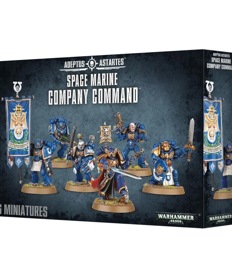Games Workshop - GAW Warhammer 40k - Adeptus Astartes - Space Marine Company Command