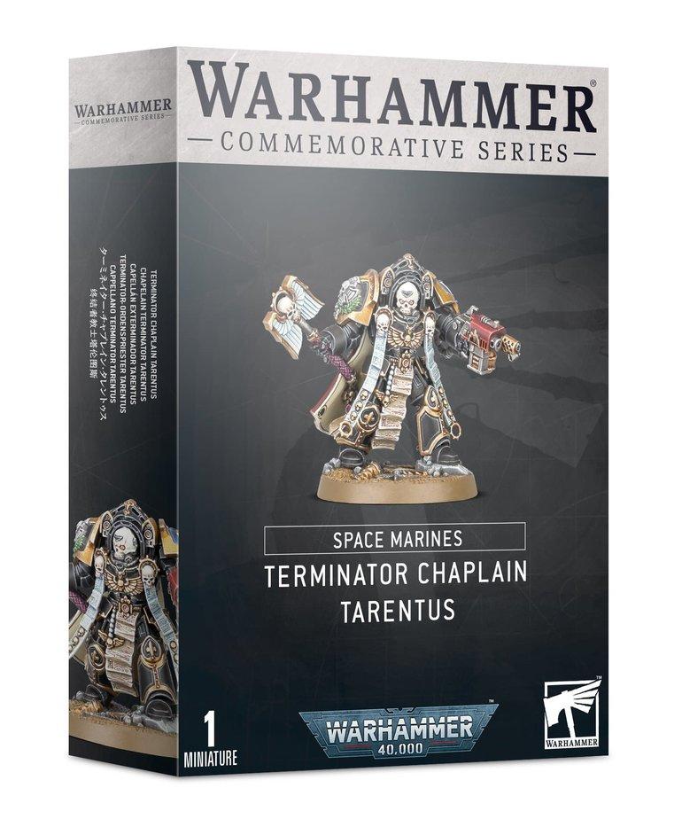 Games Workshop - GAW Warhammer 40K - Space Marines - Terminator Chaplain Tarentus