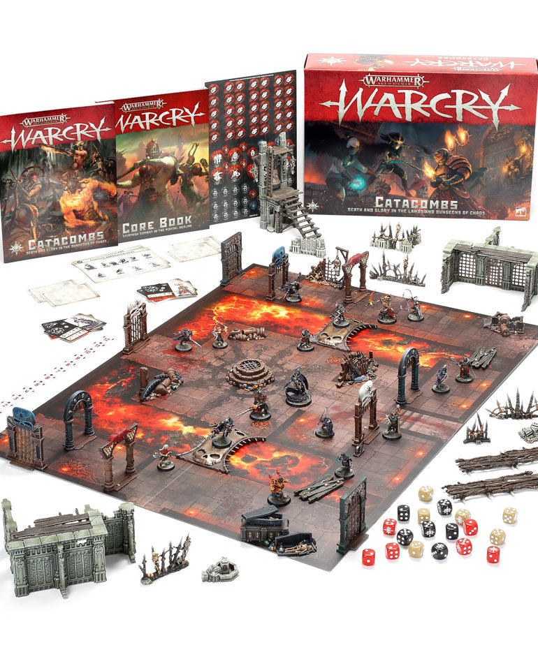 Games Workshop - GAW Warhammer Age of Sigmar: Warcry - Core Set: Catacombs