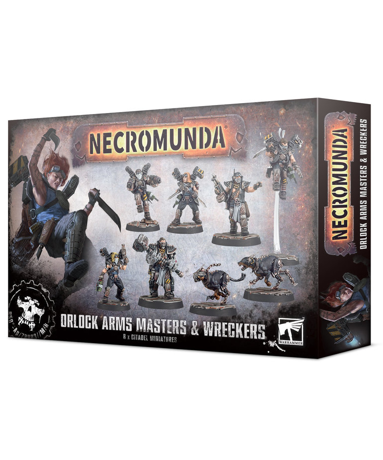 Games Workshop - GAW Necromunda - Orlock Arms Masters & Wreckers