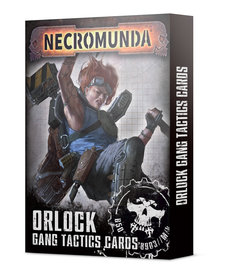Games Workshop - GAW Necromunda - Orlock Gang Tactics Cards