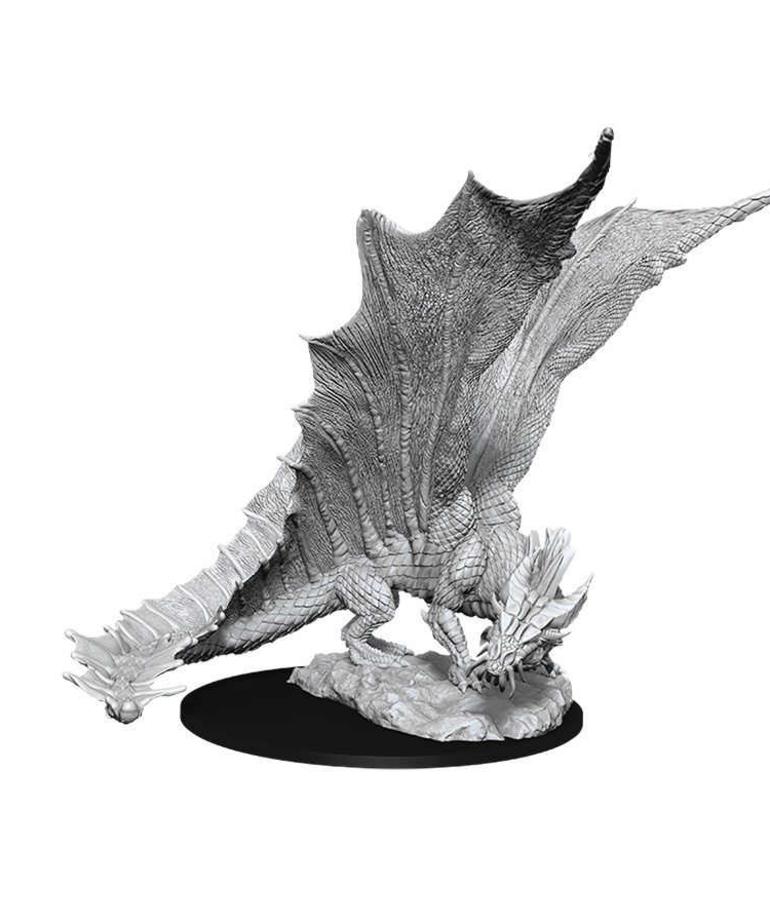 WizKids - WZK D&D: Nolzur's Marvelous Unpainted Miniatures - Young Gold Dragon
