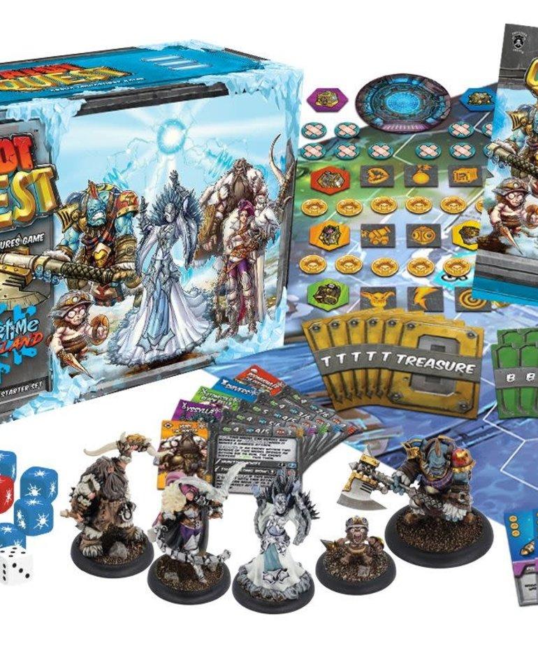 Privateer Press - PIP Riot Quest - Wintertime Wasteland - Starter Box - (Kickstarter - NO REBATE)