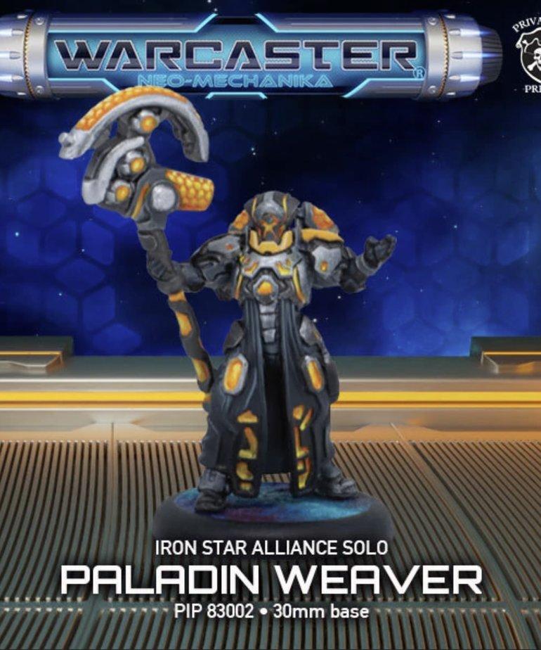 Privateer Press - PIP Warcaster: Neo-Mechanika - Iron Star Alliance - Paladin Weaver - Solo