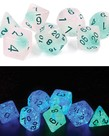 Sirius Dice - SDZ Sirius Dice: Polyhedral 7-Die Set - Frosted Glowworm