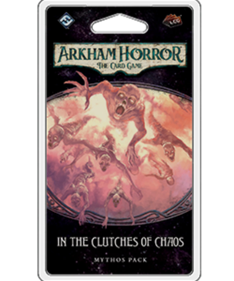 Fantasy Flight Games - FFG Arkham Horror: The Card Game - In the Clutches of Chaos - Mythos Pack