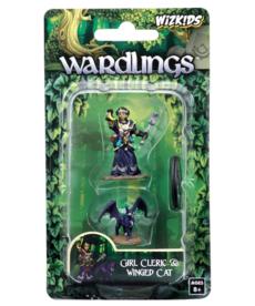 WizKids - WZK Wardlings - Girl Cleric & Winged Cat