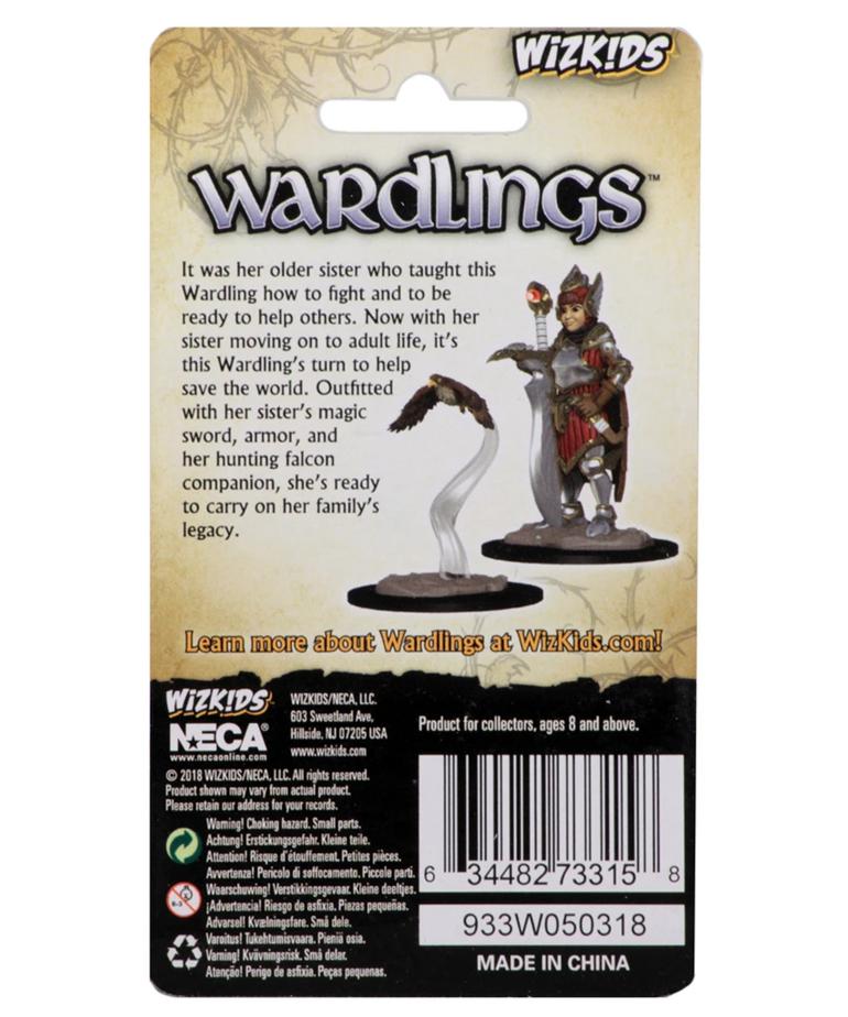WizKids - WZK Wizkids: Wardlings - Girl Fighter & Hunting Falcon