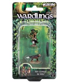 WizKids - WZK Wardlings - Boy Ranger & Wolf