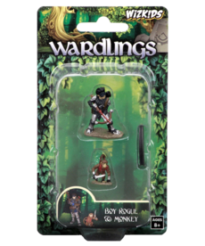 WizKids - WZK Wardlings - Boy Rogue & Monkey