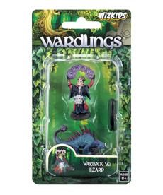 WizKids - WZK Wardlings - Boy Warlock & Lizard